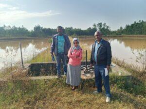FSL Bahir Dar: Water reservoir for fish